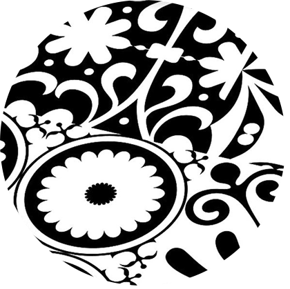 Falquon Quadraic Laminaat Black and White