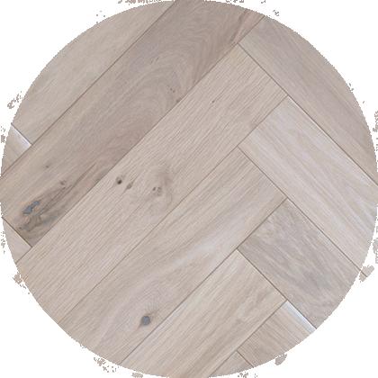 Wood Visgraat Santa Fe 3301 Wit Geolied Rustiek